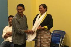 Tenzin-Kalsang-honored-Tibetan Assn of Charlottesville-VA